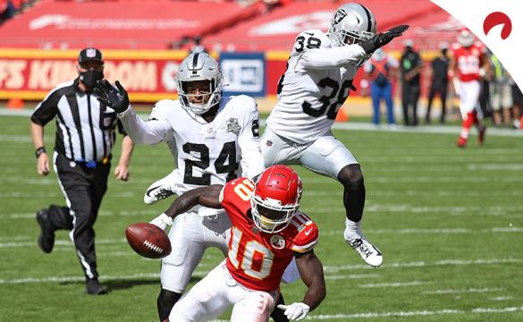 The Las Vegas Raiders' odds to win Super Bowl 55 improved vastly after they beat the Kansas City Chiefs in Week 5.
