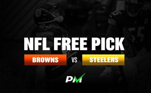 Prediction Machine NFL Free Pick: Cleveland Browns vs Pittsburgh Steelers