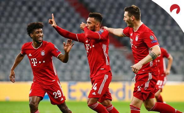 Apuestas para el Bayern Múnich Vs Eintracht Frankfurt de la Bundesliga 2020/21