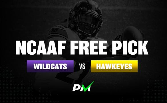 Prediction Machine NCAAF Free Pick: Northwestern Wildcats vs Iowa Hawkeyes