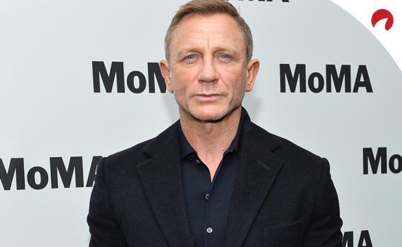 Daniel Craig is seen ahead of a James Bond movie premiere.