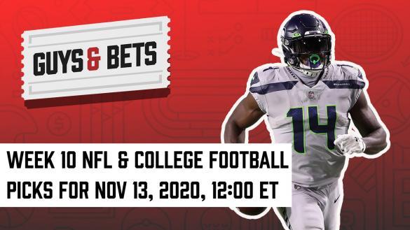 Odds Shark Guys & Bets Joe Osborne Iain MacMillan Andrew Avery NFL College Football Betting Odds Tips Picks Predictions Seattle Seahawks