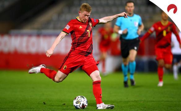 Apuestas para el Bélgica Vs Dinamarca de la Liga de Naciones