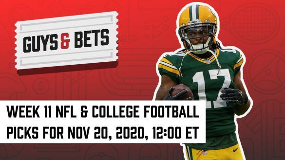 Odds Shark Guys & Bets Joe Osborne Andrew Avery Iain MacMillan NFL College Football Betting Odds Tips Picks Predictions Green Bay Packers