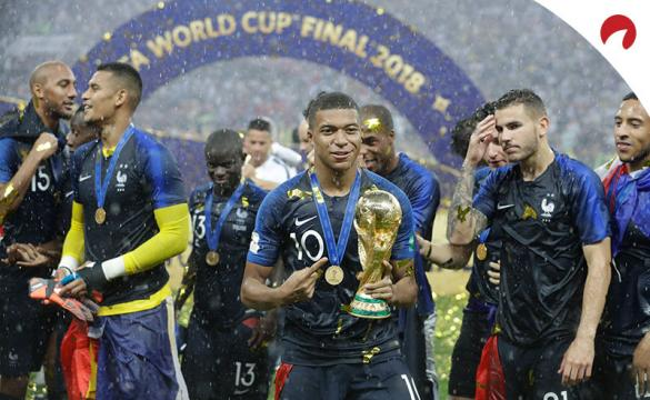 France Leads Odds to Win the 2022 World Cup.