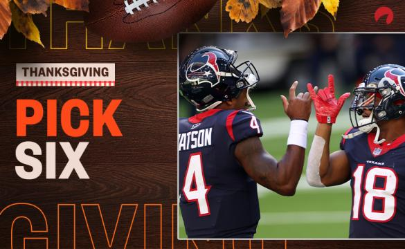 Pick Six: Week 12 Thanksgiving Best Bets November 25, 2020
