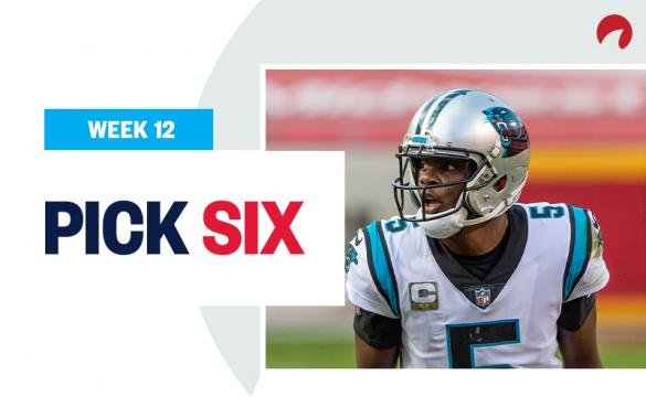 Pick Six NFL Week 12 Best Bets