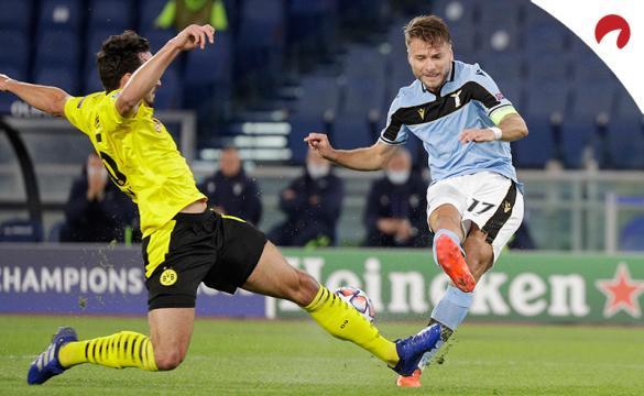 Apuestas para el Borussia Dortmund Vs Lazio de la Champions League 2020/21