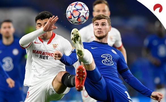Apuestas para el Sevilla Vs Chelsea de la Champions League 2020/21