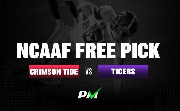 NCAAF Free Pick: Alabama Crimson Tide vs LSU Tigers