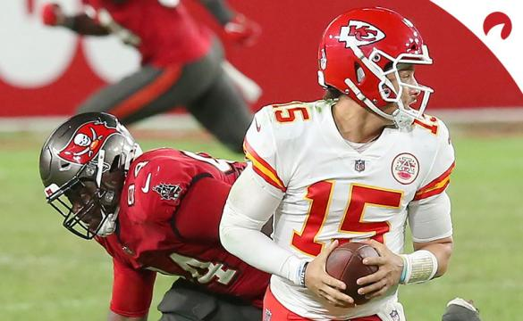 Patrick Mahomes is firmly in first-place in the odds on which player will be named the 2020 NFL MVP.
