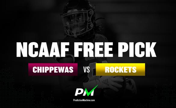 Prediction Machine NCAAF Free Pick: Central Michigan Chippewas vs Toledo Rockets