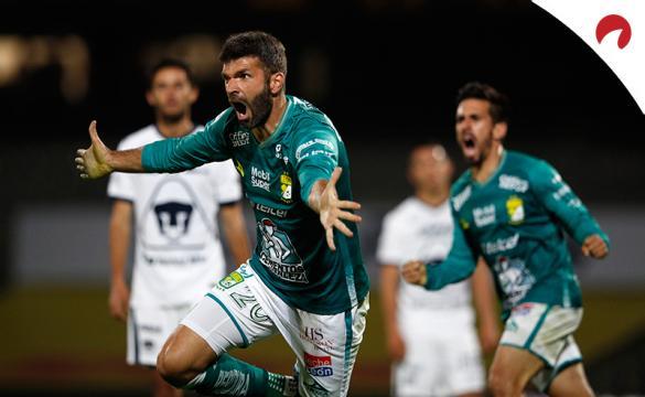 Apuestas Club León Vs Pumas UNAM del Guardianes 2020