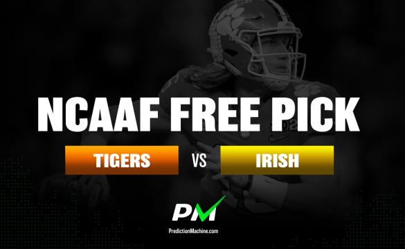 Prediction Machine NCAAF Free Pick: Clemson Tigers vs Notre Dame Fighting Irish