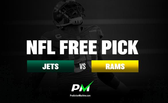 Prediction Machine NFL Free Pick: New York Jets vs Los Angeles Rams