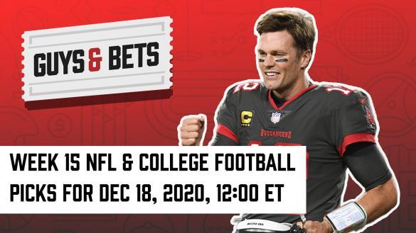 Odds Shark Guys & Bets Joe Osborne Andrew Avery Iain MacMillan NFL College Football Betting Odds Tips Picks Predictions Tom Brady