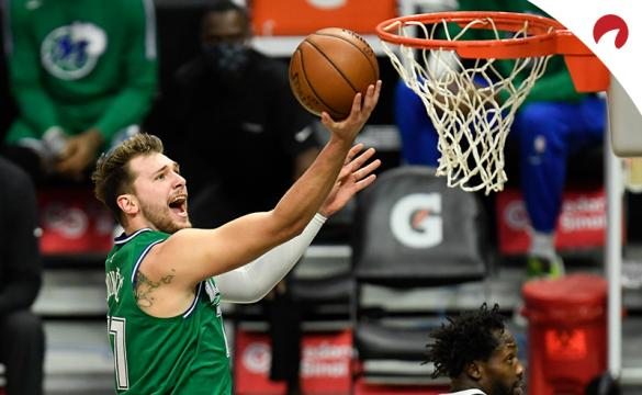 Luka Doncic leads the odds projections to win NBA MVP
