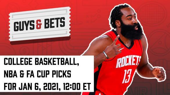 Odds Shark Guys & Bets Joe Osborne Iain MacMillan Andrew Avery NBA College Basketball Soccer Betting Odds Tips Picks Predictions James Harden