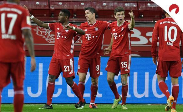 Apuestas para el Borussia Mönchengladbach Vs Bayern Múnich de la Bundesliga 2020/21