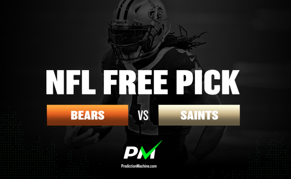 Prediction Machine NFL Free Pick: Chicago Bears vs New Orleans Saints