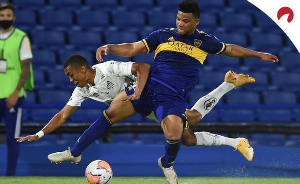 Apuestas Santos Vs Boca Juniors de la Copa Libertadores 2020