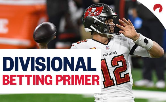 Tom Brady and the Tampa Bay Buccaneers are among our NFL Divisional Round trends to watch.