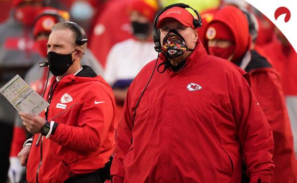 Andy Reid and the Kansas City Chiefs have the likeliest shot of meeting the Green Bay Packers in Exact Super Bowl 55 Matchup Odds.