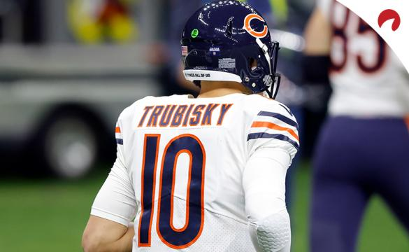 Odds of the Chicago Bears sticking with Mitch Trubisky as quarterback have been released.