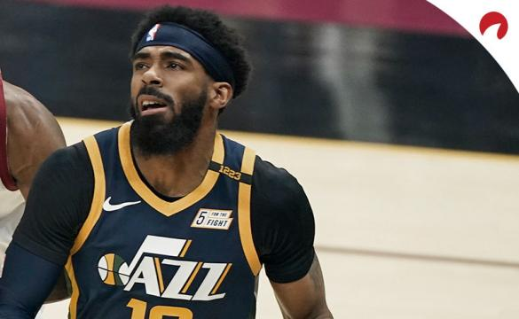 Mike Conley and the Utah Jazz will attempt to cover the spread against the Denver Nuggets.