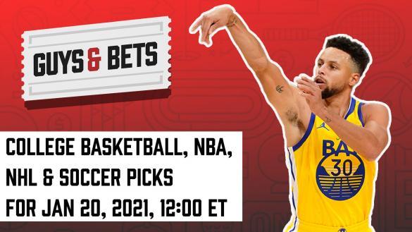 Odds Shark Guys & Bets Joe Osborne Andrew Avery Iain MacMillan NBA College Basketball NHL La Liga Serie A Betting Odds Tips Picks Predictions Steph Curry