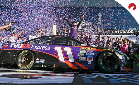 Denny Hamlin is the favorite in the 2021 Daytona 500 odds