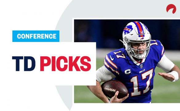 Weekly NFL touchdown scorer bets are here for the Conference Championships.