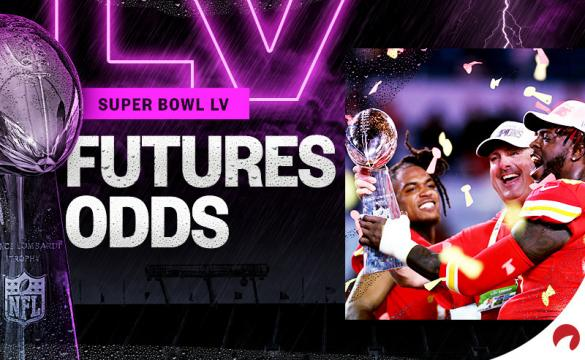 The Kansas City Chiefs are favored to beat the Tampa Bay Buccaneers in Super Bowl odds.