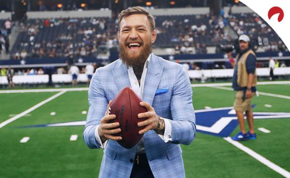 Bet on some best Cross-Sport betting props such as Conor McGregor and Super Bowl 55