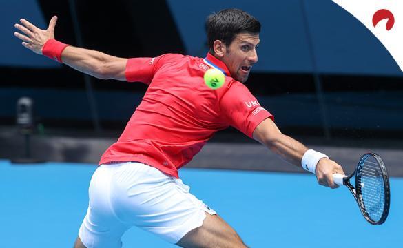 Novak Djokovic se perfila como el mejor candidato en las cuotas para ganar el Open de Australia 2021