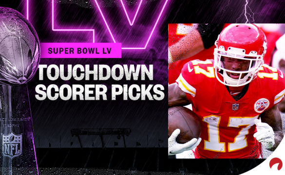 Weekly NFL touchdown scorer bets are here for Super Bowl 55.