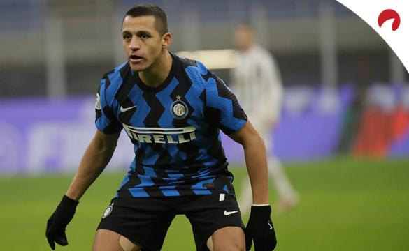 Alexis Sanchez's Inter Milan are the favorites in the Serie A odds.