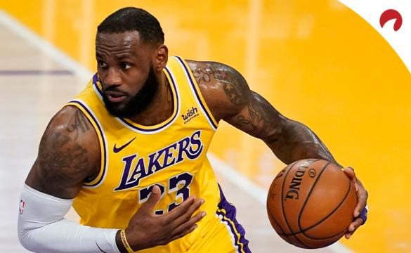 LeBron James leads the odds projections to win NBA MVP