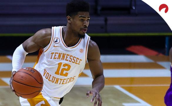 Victor Bailey and the Tennessee Volunteers are double-digit favorites in NCAAB betting odds on Wednesday against the Georgia Bulldogs.