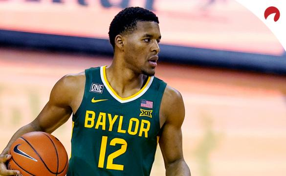 Jared Butler and the Baylor Bears are large favorites to win the 2021 Big12 Conference basketball tournament.