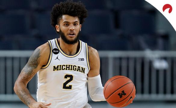 Isaiah Livers' Wolverines are the favorites in the Big Ten Basketball championship odds.