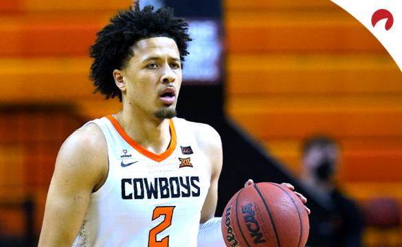 Cade Cunningham with the Oklahoma State Cowboys is favored to be the 1st pick for 2021 NBA Draft odds.