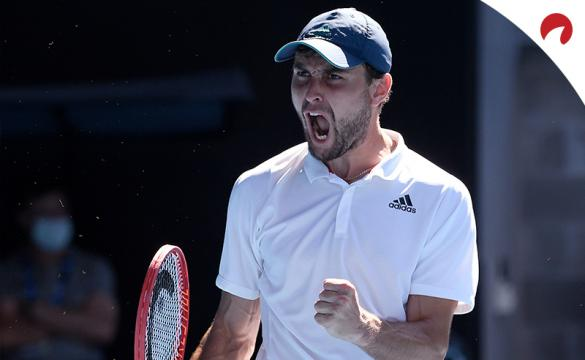Aslan Karatsev vs Novak Djokovic odds list Karatsev as a major underdog in the 2021 Australian Open semifinal.