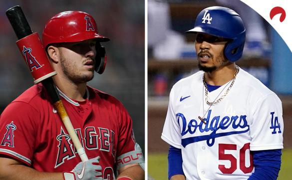 Mike Trout and Mookie Betts are favorites MLB MVP odds.