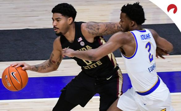 Rayquan Evans and the Florida State Seminoles are sizable betting favorites in NCAAB odds vs the Miami Hurricanes on Wednesday night.