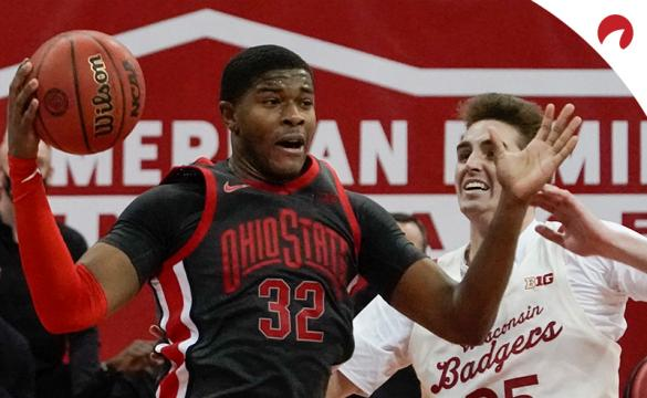 E.J. Liddell and the Ohio State Buckeyes are road favorites Thursday night in NCAAB betting odds as they take on the Michigan State Spartans.