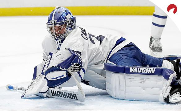 Jack Campbell and the Toronto Maple Leafs visit the Edmonton Oilers on Monday night in a game with EVEN betting odds according to the sportsbooks.
