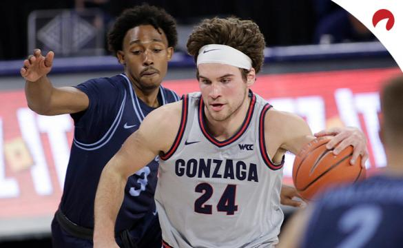 Corey Kispert and the Gonzaga Bulldogs are favorites for 2021 March Madness Odds