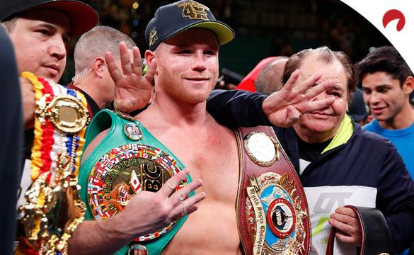 Canelo Alvarez is favored in the Canelo vs Saunders odds.