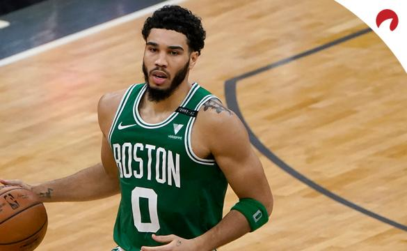 Jayson Tatum and the Boston Celtics are underdogs hosting the LA Clippers.